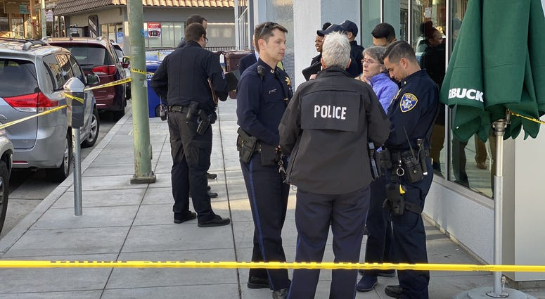 Oakland police say they have arrested two suspects who were involved in the death of a Starbucks customer who tried to stop thieves from stealing his laptop in Oakland on Dec. 31, 2019.