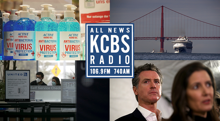 The coronavirus outbreak has upended life in the Bay Area. Keep up with KCBS Radio for the latest developments.