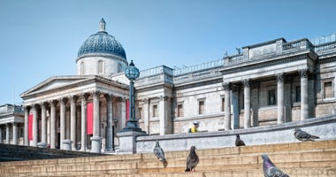 London's National Gallery is one of many museums available for free virtual tours