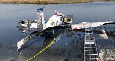 A small plane crashed near Palo Alto Airport, killing the pilot on Sept. 4, 2018.