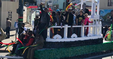 Annual Black History Month Parade in San Francisco