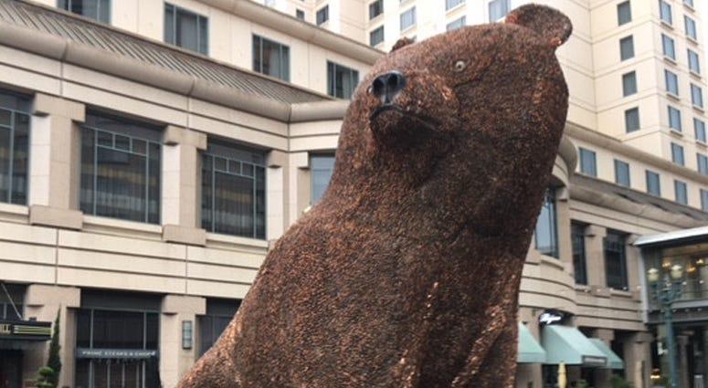 """""""Ursa Mater"""" - Penny Bear Sculpture"""