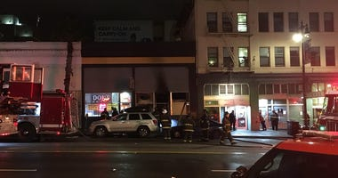 SOMA Adult Bookstore Fire