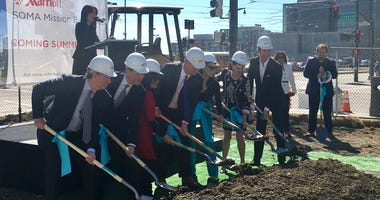 Groundbreaking for first hotel In Mission Bay