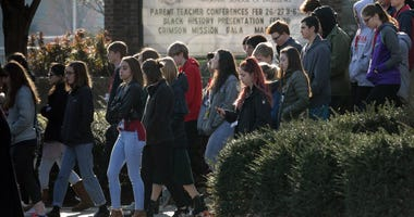 Student Walk Out - Gun Protest