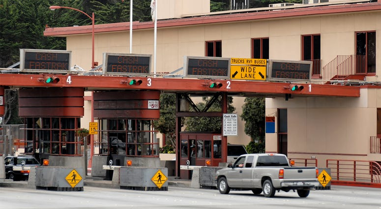 Golden Gate Bridge Toll Plaza