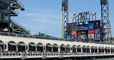AT&T Park from McCovey Cove