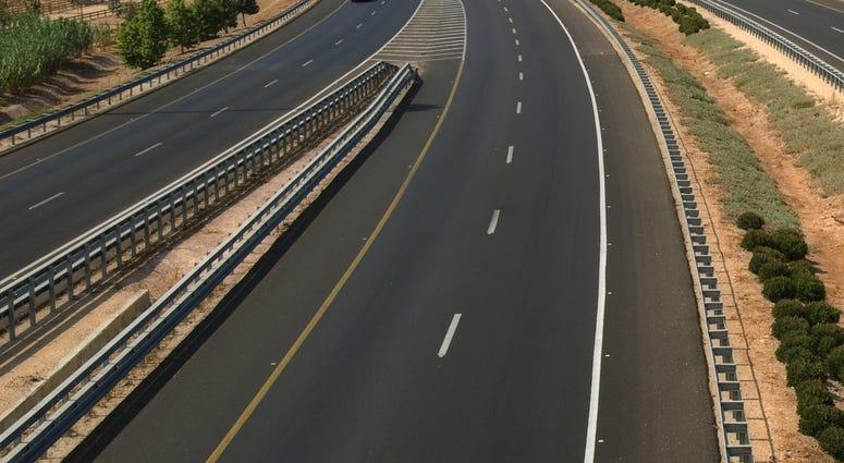 Highway Freeway Roadway Overpass