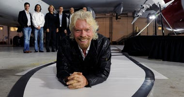 Sir Richard Branson and Virgin Galactic