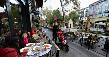 Santana Row in San Jose