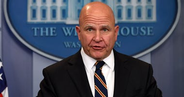 U.S. National Security Adviser H.R. McMaster