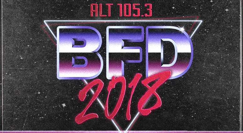 ALT 105.3's BFD 2018