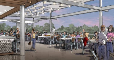 Artist Rendering of Ballast Point Brewery at Downtown Disneyland