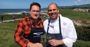 Liam and Chef Michael Fiorelli
