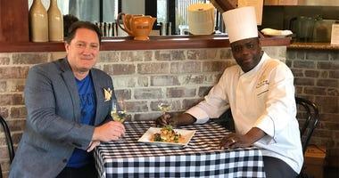 Chef Paul Magu-Lecugy & Liam