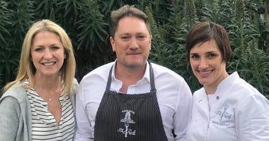 Jill Giacomini-Basch, Liam and Chef Jennifer Luttrell
