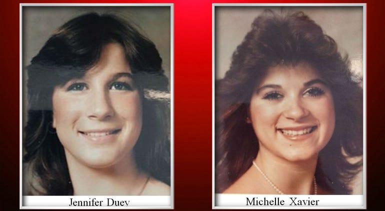 Jennifer Duey & Michelle Xavier