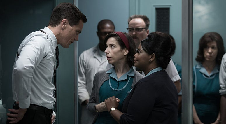 "Michael Shannon, Sally Hawkins and Octavia Spencer in ""The Shape of Water"""