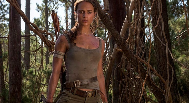 Alicia Vikander as Lara Croft in 'Tomb Raider'