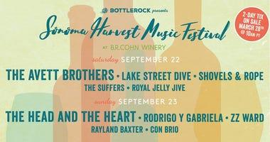 Sonoma Harvest Music Festival