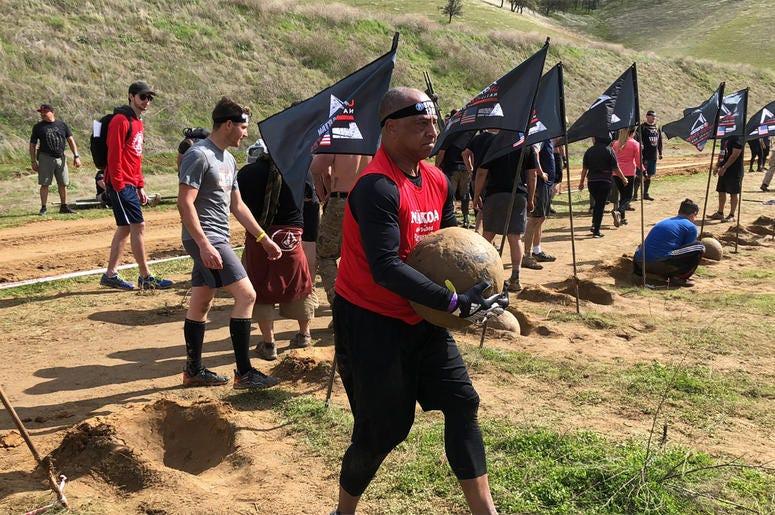 KCBS Radio reporter Bob Butler killing it at the 2018 Spartan Race in Diablo Grande, CA