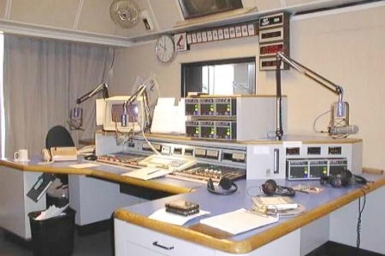 Studio A at KCBS Radio Embarcadero Center