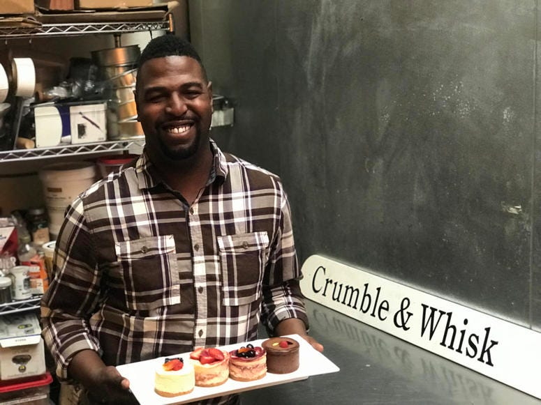 Chef Charles Farrier of Crumble & Whisk