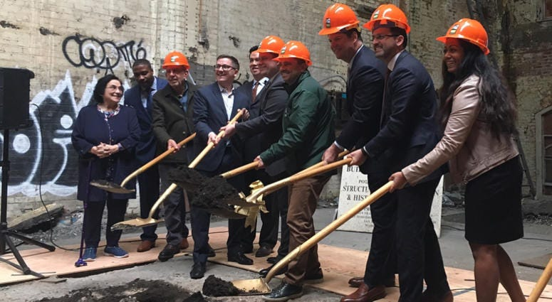 Performing Arts Center Ground Breaking