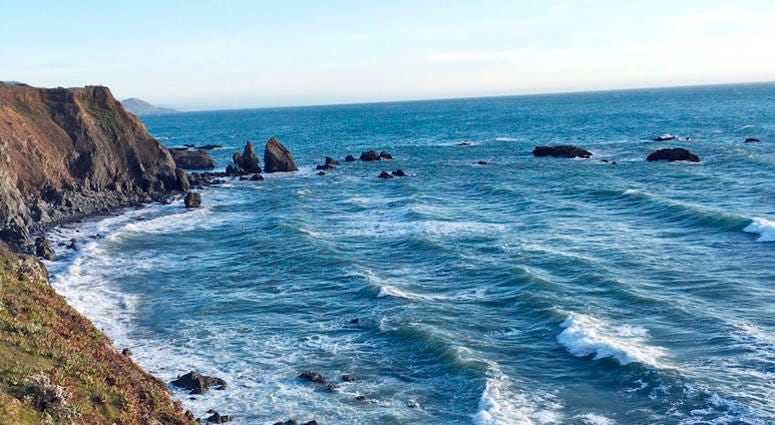 AP PHOTO: Mendocino Coast