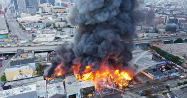SF Fire Department quashes rumors about five alarm fire in the city's SoMa neighborhood