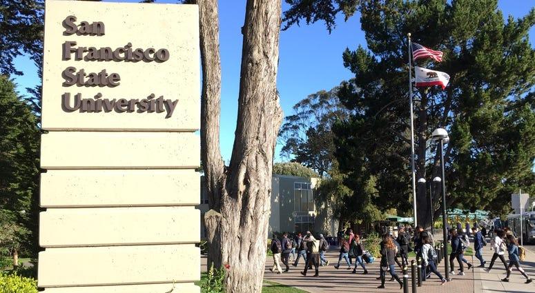 SFSU campus sign