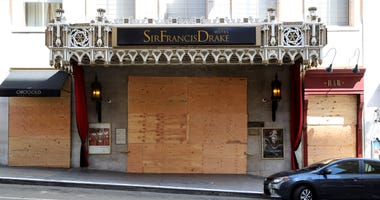 The famous Sir Francis Drake hotel in San Francisco could get a name change