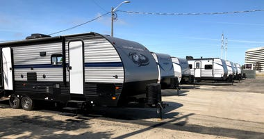 San Jose closes an emergency RV homeless park set up during the coronavirus pandemic