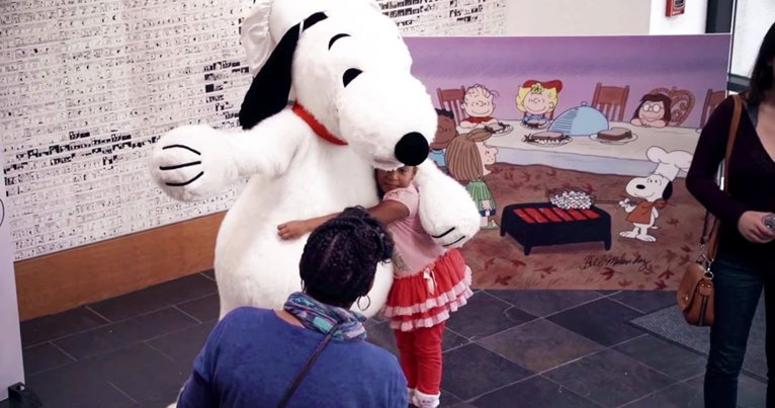 The Charles M. Schulz Museum will have a Thanksgiving feast with Snoopy.