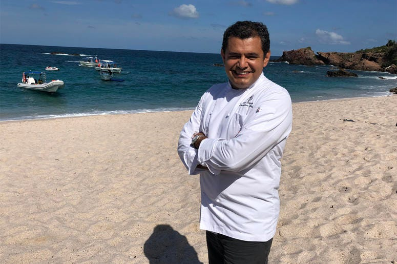 Chef Jorge González (Photo credit: Foodie Chap/Liam Mayclem)