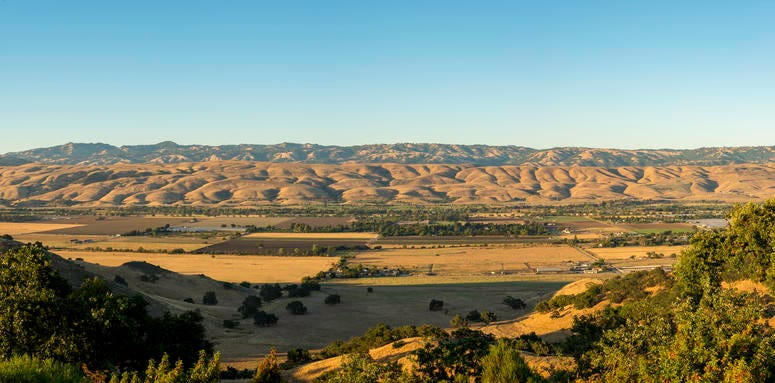 A view of the Coyote Valley in San Jose.