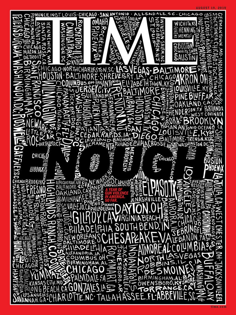 John Mavroudis, a Discovery Bay artist, created the cover of TIME magazine for the Aug. 19, 2019 edition.