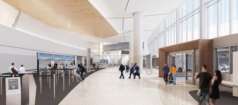SFO Terminal One redesign