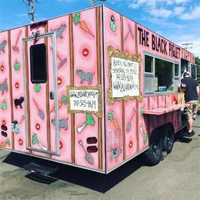"""The Black Piglet"" food truck"