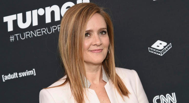 In this May 16, 2016 file photo Samantha Bee attends the Turner Network 2016 Upfronts in New York. Bee is back on television, saying she's angry that the controversy over her use of a crude epithet to describe Ivanka Trump distracted from more important i