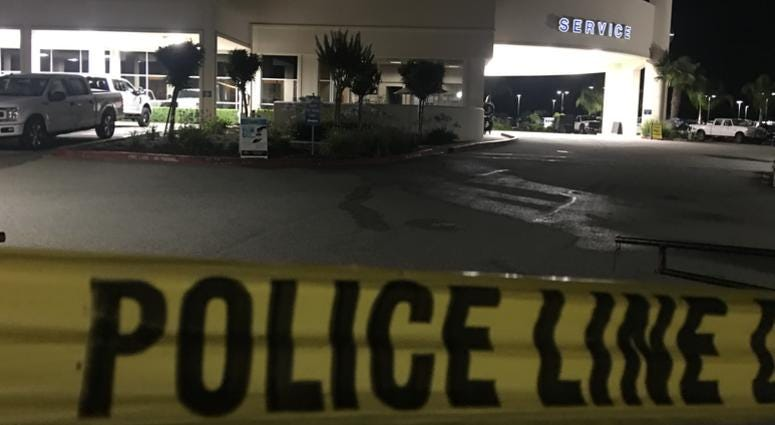 Two employees of the Ford Store in Morgan Hill were killed by a gunman who later shot himself on June 25, 2019.