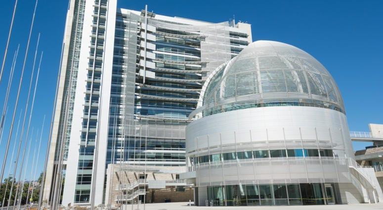 San Jose city hall rotunda.