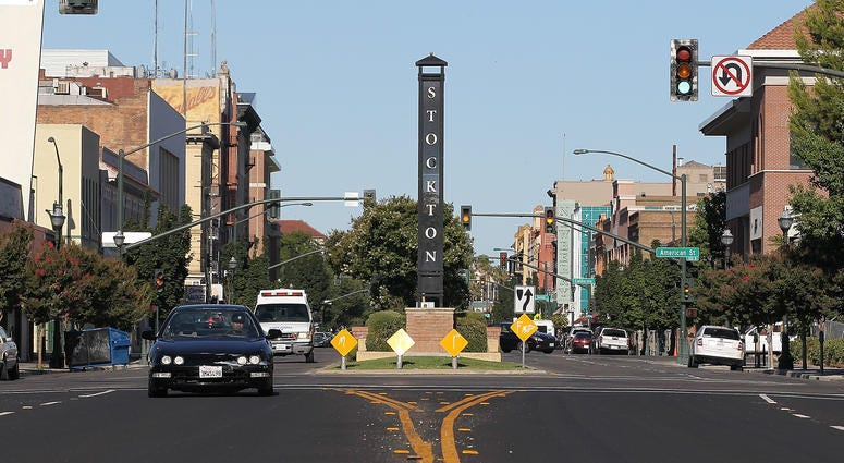 Stockton, CA where Mayor Michael Tubbs has launched a groundbreaking income experiment