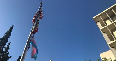 San Mateo County Raises Transgender Flag to Mark Day of Remembrance
