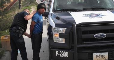 Migrant who was part of caravan is arrested in Tijuana