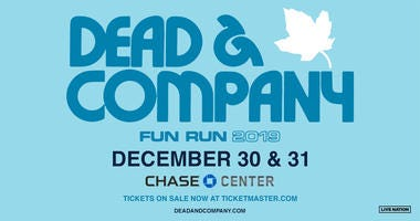 Dead & Company at Chase Center in San Francisco