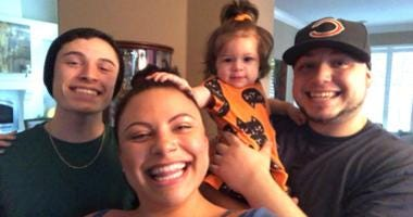 Patrick, Sienna and Anthony Dunakin, along with his daughter Riley, are shown in this picture. The siblings' father was an Oakland police officer killed on duty in 2009 and their mother was killed in an Oct. 2019 car accident.