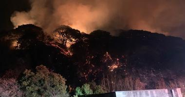 Mare Island fire
