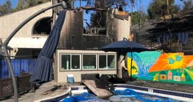 The Harriett Plummer Aquatics Swim School was destroyed by a wildfire in Lafayette in October 2019.