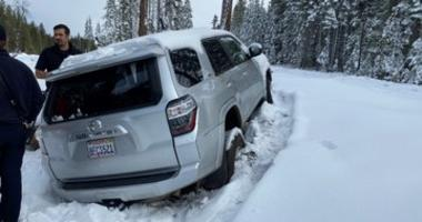 Paula Beth James was found alive in her snow-covered car in Butte County after she'd been missing for six days, the sheriff's office said Jan. 15, 2020.